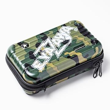 矢沢永吉 ショップ限定 ハードトラベルポーチ(ロゴ)Army