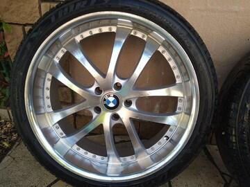 BMW22インチアルミセット