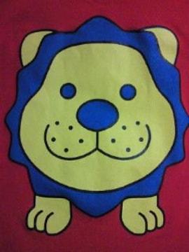 吉本興業 お笑い芸人 タカアンドトシ タカ デザイン ライオン ポロシャツ レッド JL