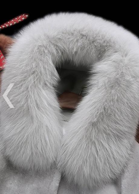 即決可愛い冬フェイクファーコートSふわモコ < 女性ファッションの