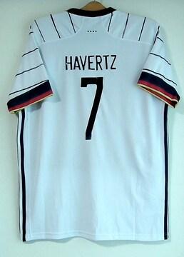 新品☆ハフェルツ☆ドイツ代表☆白7番半袖ハバーツ・ハヴァーツ