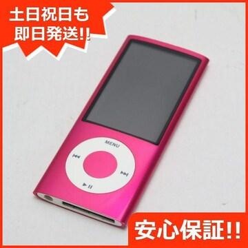 ●安心保証●美品●iPOD nano 第5世代 16GB ピンク●