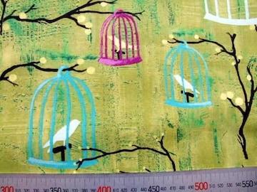 USAコットンmichael miller鳥籠50×110