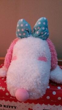 ☆ピンク耳スヌーピーぬいぐるみ☆約全長60�pくらい