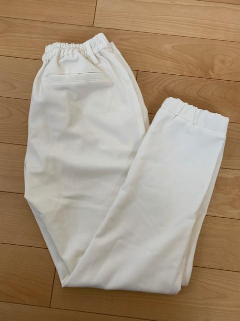 アロマデザイン ホワイトパンツ < 女性ファッションの