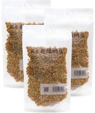 チャック付袋入り 自然健康社 乾燥納豆 100g×3袋