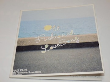 RAG FAIR/Old Fashioned Love Song [Single, Maxi]