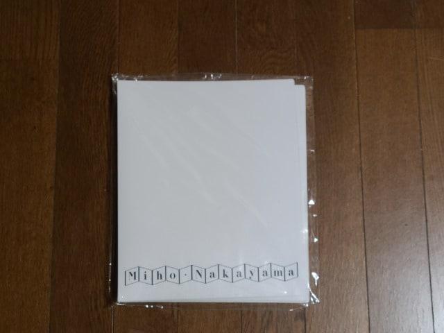 送料無料/中山美穂1990TOURオフィシャルバインダー美品 < タレントグッズの