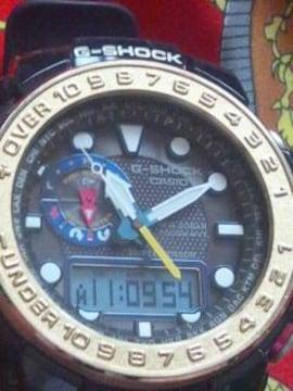 カシオGショックGWN-1000Fガルフマスター電波ソーラー腕時計定64900円
