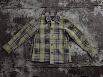 超レア!!(定価99750)バックラッシュ×DIG DESIGN ・レザーシャツ