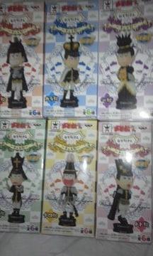 ワーコレ ワールドコレクタブル おそ松さん チェス松 黒色 6種類セット