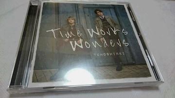 *☆東方神起★Time Works Wonders(初回盤CD)♪