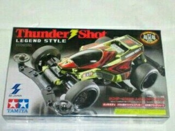 ミニ四駆 Thunder Shot LEGEND STYLE サンダー ショット シルバー メッキ