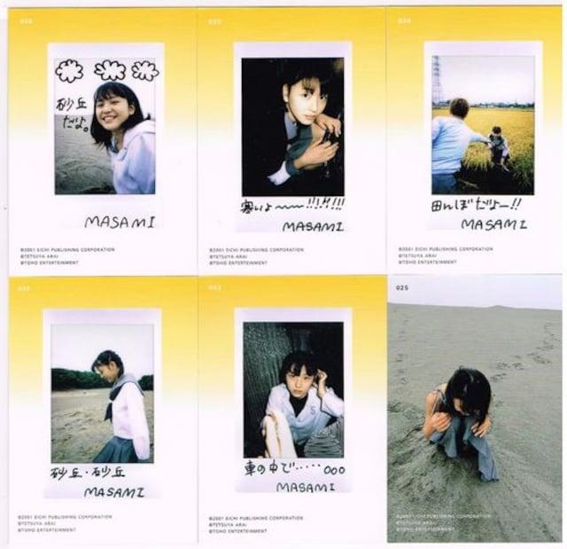 長澤まさみ 2001イートレジャーjrカード6枚 < タレントグッズの