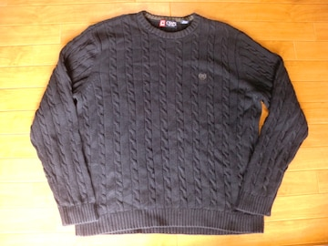 CHAPS チャップス コットン セーター USA-XL