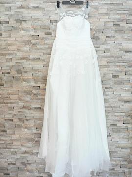 ウェディングドレス・ベル・ロンググローブの3点セット・新品