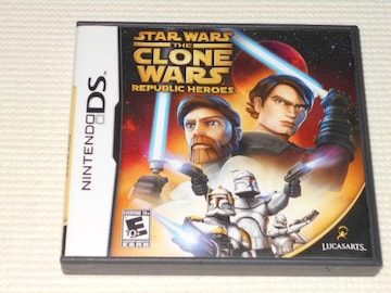 DS★STAR WARS THE CLONE WARS REPUBLIC HEROES