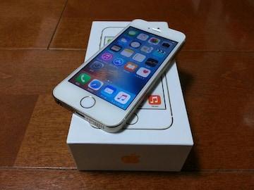 即落/即発!!超美品 iPhone 5s 16GB ゴールド