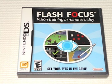 DS★FLASH FOCUS Vision training in minutes a day 海外版