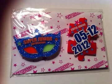 ☆SUPER JUNIOR SS4 東京ドーム限定 アクリルブローチ 5/12 Ver.