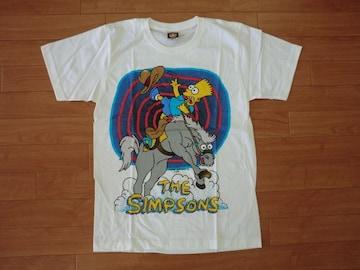 シンプソンズ Tシャツ 白 S