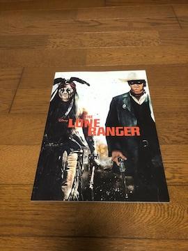 映画パンフレット「ローン・レンジャー」 ジョニー・デップ