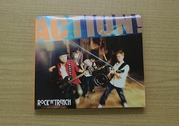 ロッカトレンチCD「ACTION!」ROCK'A'TRENCH DVD付初回盤●