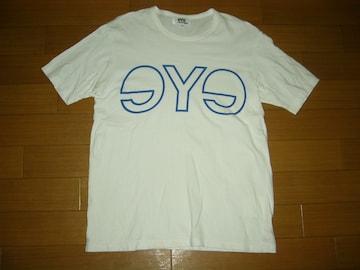 JUNYA WATANABE ジュンヤワタナベ eYeロゴ Tシャツ M 白青