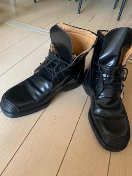 送料込 美品ブーツ MADE IN ITALY 黒