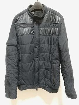 N.HOOLYWOOD ジップ 中綿ジャケット Mサイズ 薄黒 ネイバーフッド日本製 服
