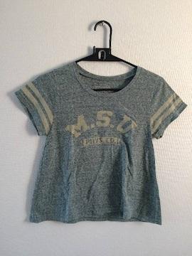 Crisp 袖ラインTシャツ