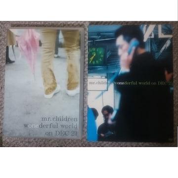 KF MR.CHILDREN WONEDERFUL WORLD ON DEC21