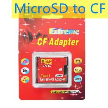 C003 MicroSD to CF アダプター TF対応