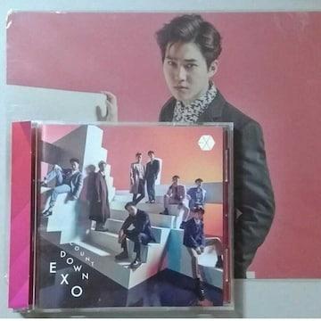 EXO countdown CD+DVD スホ 下敷き付