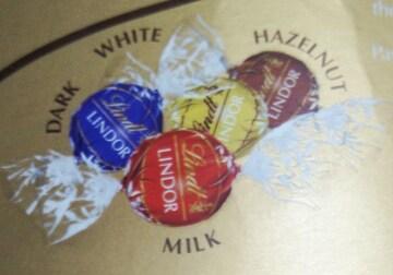 ★高級チョコレートリンツ★リンドール★金★合計8個セット