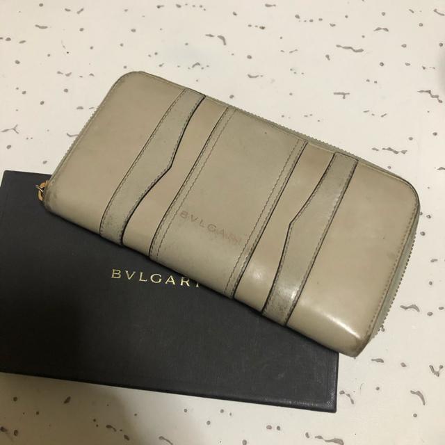 1スタ 超激レア☆ BVLGARI ラウンドファスナー長財布  < ブランドの