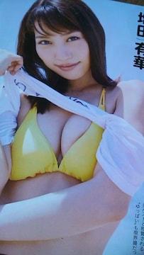 増田有華・グラビア雑誌からの切り抜き