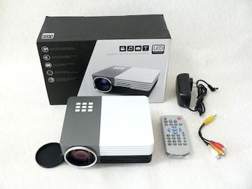 LEDプロジェクター◆ HDMI端子 ・スピーカー内蔵・2電源対応