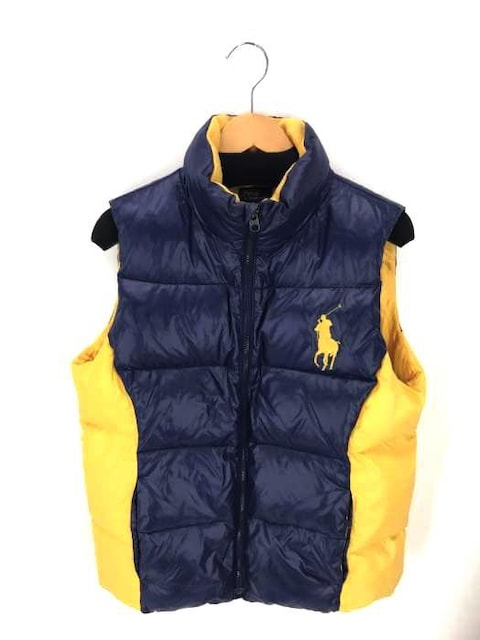 Polo by RALPH LAUREN(ポロバイラルフローレン)ビックポニー刺繍 ナイロンダウンベスト  < 男性ファッションの