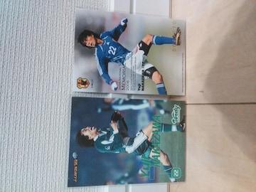 中澤佑二 ルーキーカード・シリアル入りカード