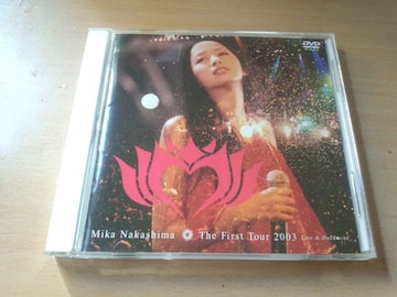 中島美嘉DVD「The First Tour 2003 Live&Document」ライブ●