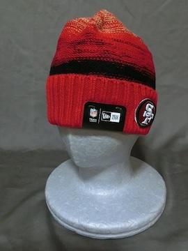 【NEWERA】社製 NFLアメフト SF 49ers ニットキャップ