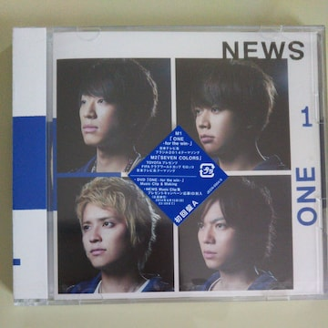 NEWS◇ONE-for the win-初回盤A CD+DVD◇新品