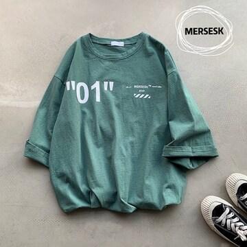 L,LLXL3L/新品☆五分袖とろみTシャツ44