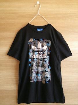 adidas*半袖Tシャツ*アディダス*黒色レディース