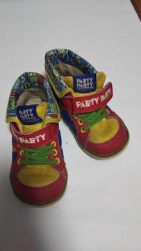 PARTY PARTY カラフルスニーカー