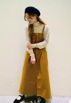 *niko and...*小松奈菜さん着用item ワークエプロンSK 新品beige