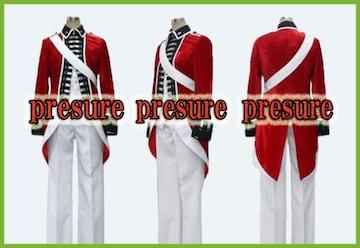 ヘタリア イギリス 独立戦争  ベロア生地☆コスプレ衣装
