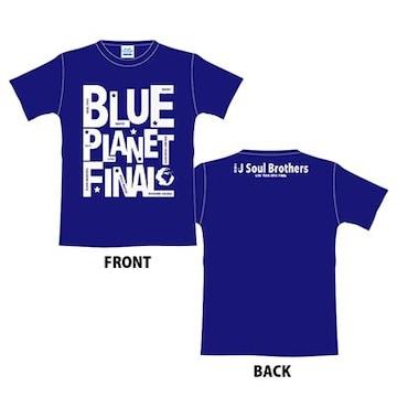 即決 三代目J Soul Brothers グラフィック Tシャツ ネイビーL