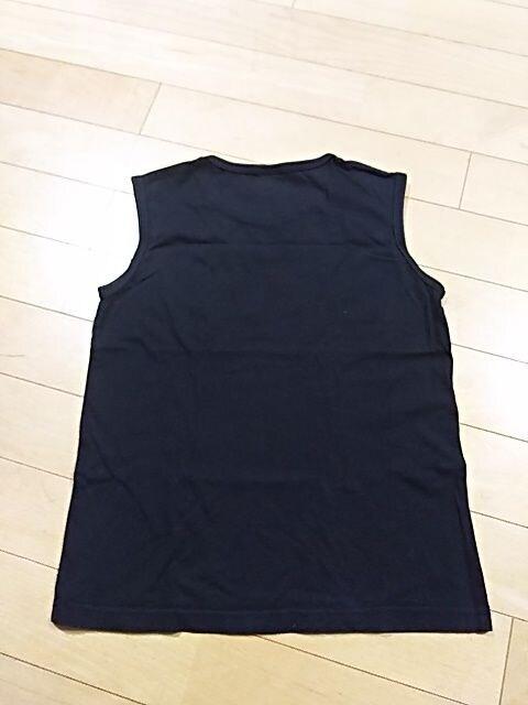 コムサイズム☆袖なしトップス(^^)ブラック 130 < ブランドの